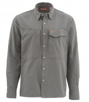 Simms Guide Shirt Farbe Pewter