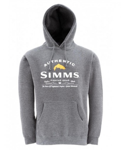 Simms Hoody Badge of Authenticity