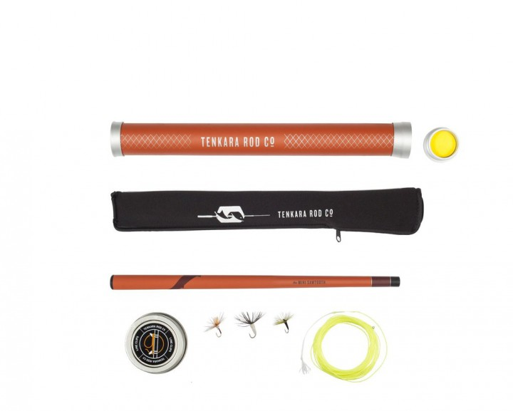 Tenkara Mini Sawtooth Set